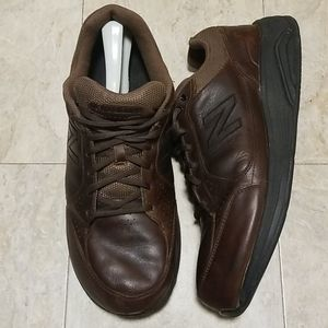 New Balance 982 Leather Walking Shoes MW982BR